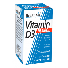Health Aid Vitamin D3 10000IU