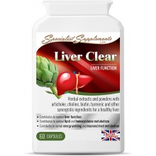 Specialist Supplements Liver Clear 60kps